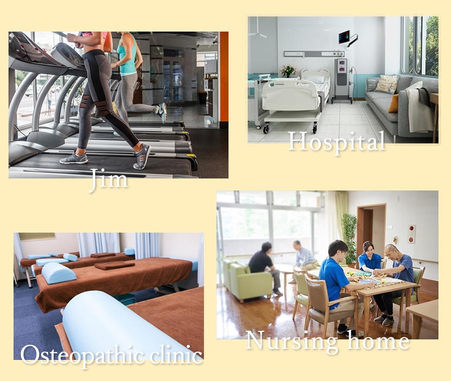 Jim Hospital Osteopathic clinic Nursing home
